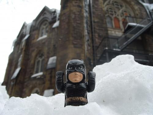 Batman Goes to Church