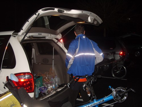 Reflectors charged and ready!