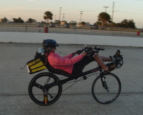 Me on the track