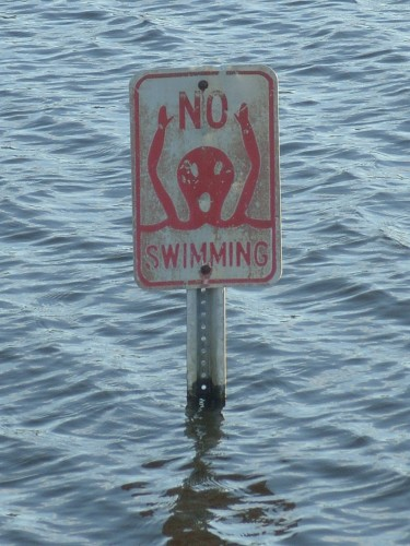 Aagh! No Swimming!!!