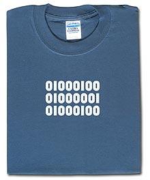 Binary Dad Shirt from ThinkGeek.com