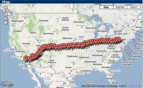 Bent Up Cycles' RAAM Progress Map