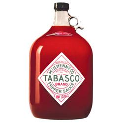 Tabasco Gallon Jug