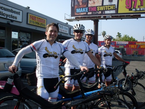 Bent Up Cycles: The 4-Man Team!